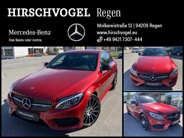 Mercedes-Benz C 43 AMG 4M Night+Comand+ILS-LED+360°Kam+PDC+SHZ, Jahr 2017, Benzin