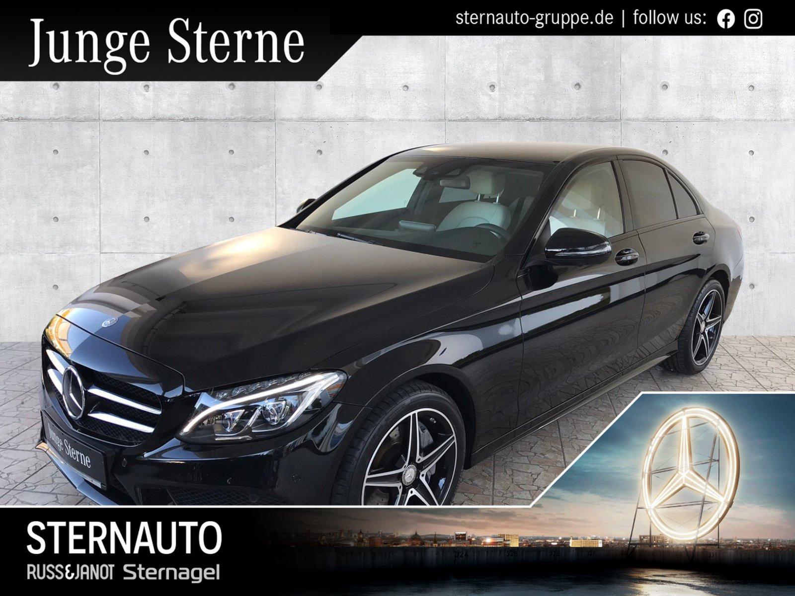 Mercedes-Benz C 400 4M AMG Line/COMAND/Distronic/360°-Kamera, Jahr 2016, Benzin