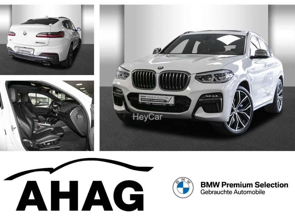BMW X4 M40d M Sport 21'' LMF Standh. AHK Pano HeadUp, Jahr 2020, Diesel