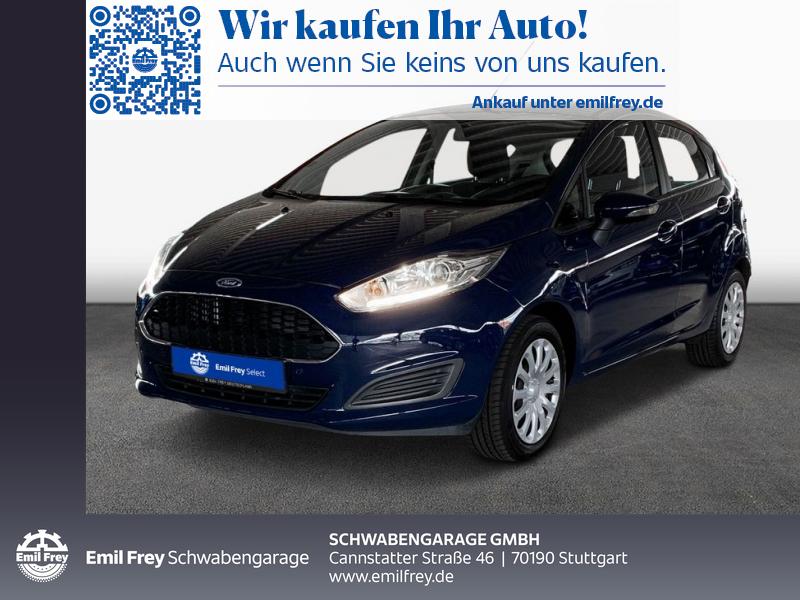 Ford Fiesta 1.0 EcoBoost Start-Stop Trend, Jahr 2017, Benzin