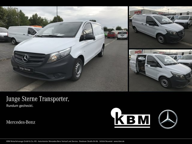 Mercedes-Benz Vito 111 CDI Ka/ K Tempomat,Trennwand m. Fenster, Jahr 2015, Diesel