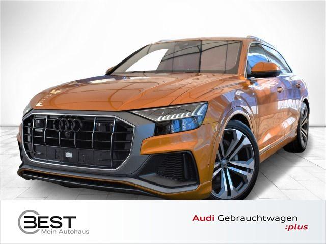 Audi Q8 50 TDI quattro S-Line MATRIX, STHZG, PANO, AHK, VIRTUAL, B&O, NAVI-PLUS, Jahr 2018, Diesel