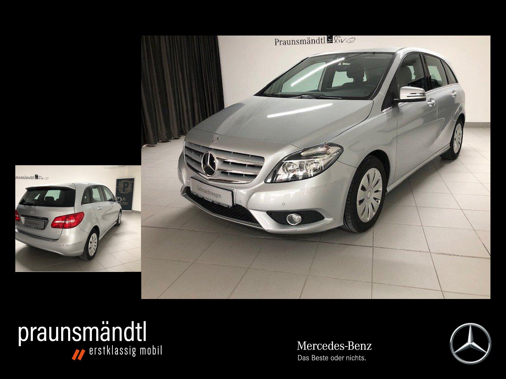 Mercedes-Benz B 200 Chrom 7ATG/AHK/PTS/SHZ/Tempomat, Jahr 2014, Benzin