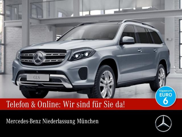 Mercedes-Benz GLS 500 4M B&O 360° Airmat Pano Distr. COMAND AHK, Jahr 2017, Benzin