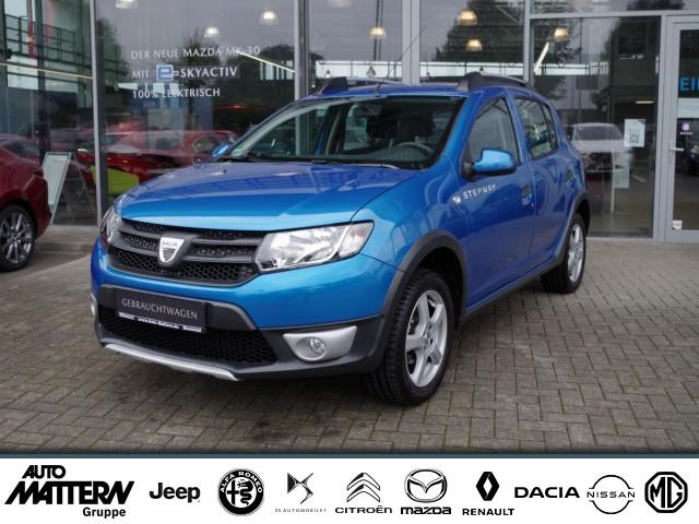 "Dacia Sandero ""Stepway"" 8-fach bereift, 1 Hd !, Jahr 2015, petrol"