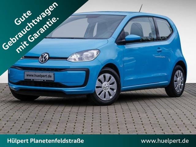Volkswagen up! 1.0 move up! ASG KLIMA AKUSTIK-PAKET GANZJAHRESREIFEN, Jahr 2017, Benzin