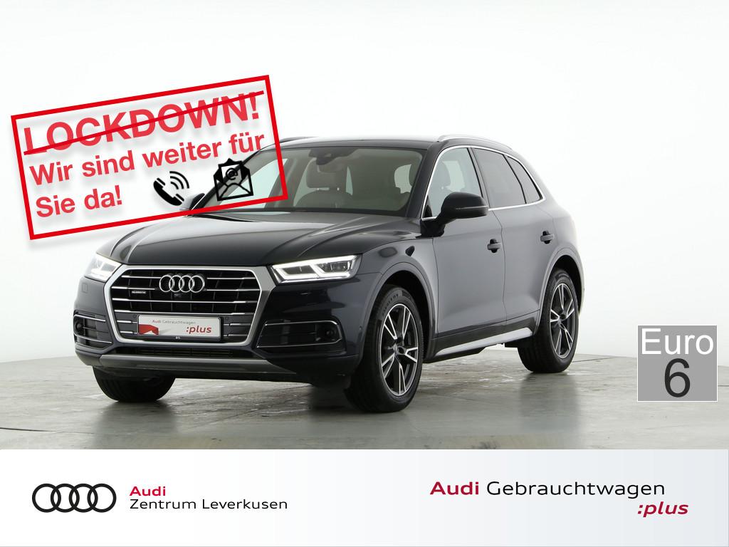 Audi Q5 2.0 TFSI quattro design, Jahr 2018, Benzin