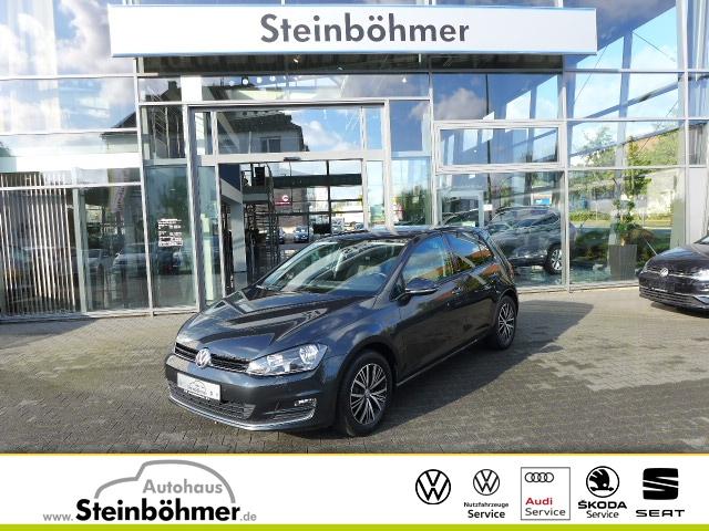 Volkswagen Golf VII Allstar 1.2 TSI Standheizung PDC SHZ, Jahr 2016, Benzin