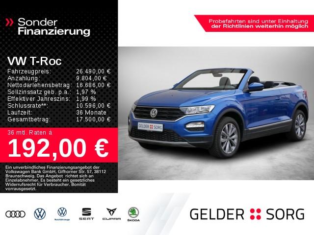 Volkswagen T-ROC Cabrio 1.0 TSI Style *AHK*APP-Connect*ACC*, Jahr 2020, Benzin