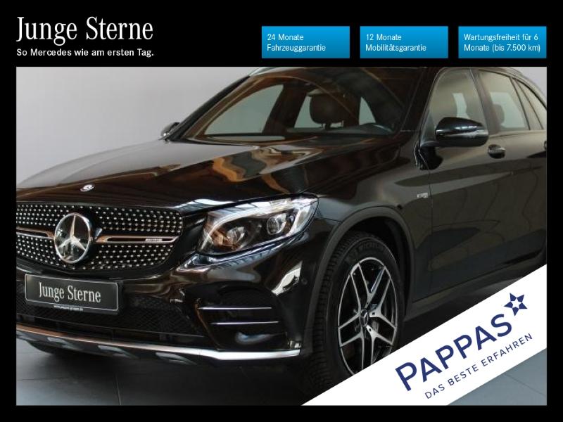 Mercedes-Benz GLC 43 AMG 4MATIC Pano.-Dach+Navi+Klima+LED, Jahr 2017, Benzin