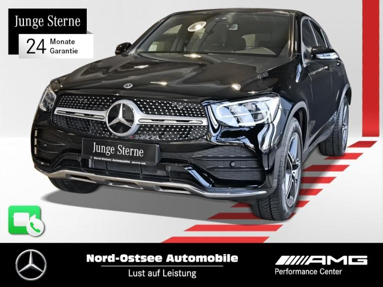 Mercedes-Benz GLC 220 d Coupé 4M AMG Navi Distro SHD AHK LED, Jahr 2020, Diesel