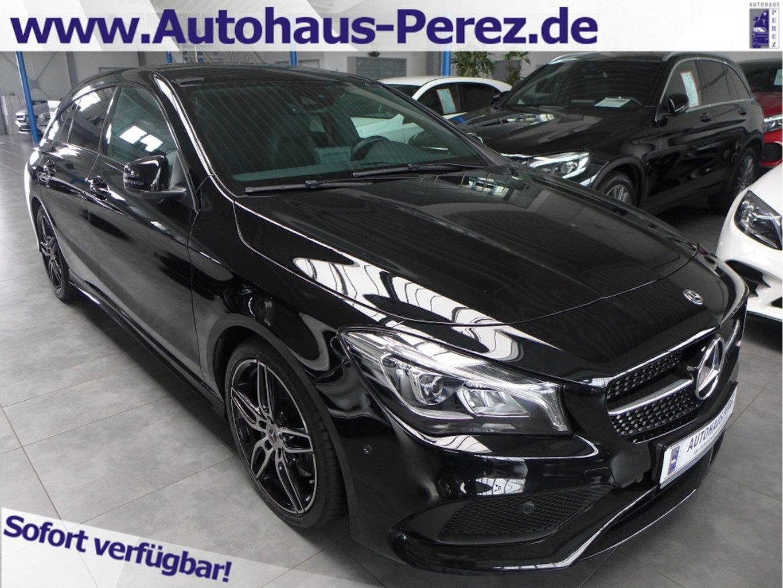 Mercedes-Benz CLA 220 Shooting Brake d 4M AMG AHK-NIGHT-KAMERA, Jahr 2018, Diesel