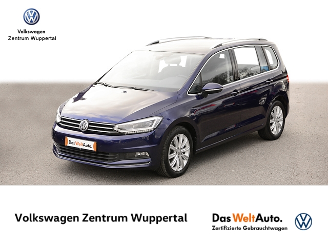 Volkswagen Touran 2 0 TDI Highline DSG NAVI LED KAMERA SHZ PDC LM, Jahr 2017, Diesel