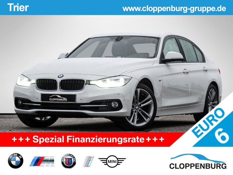 BMW 325d Sport LED NAVI KOMFORTZG TEMPOMAT SITZHZG -, Jahr 2016, Diesel