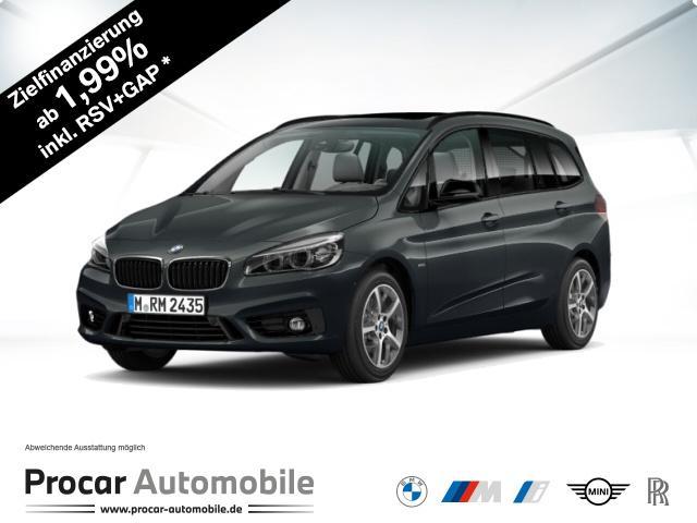 BMW 220 Gran Tourer Sport Line Sport Aut. Panorama, Jahr 2016, Diesel