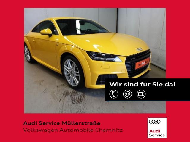 Audi TT 2.0 TFSI quattro S-line Coupe Navi LED Kamera, Jahr 2017, Benzin