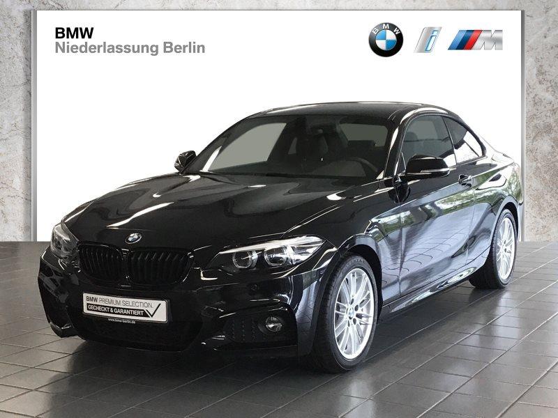 BMW 230i Coupé EU6d-Temp Aut. M Sport LED Navi Prof., Jahr 2019, Benzin