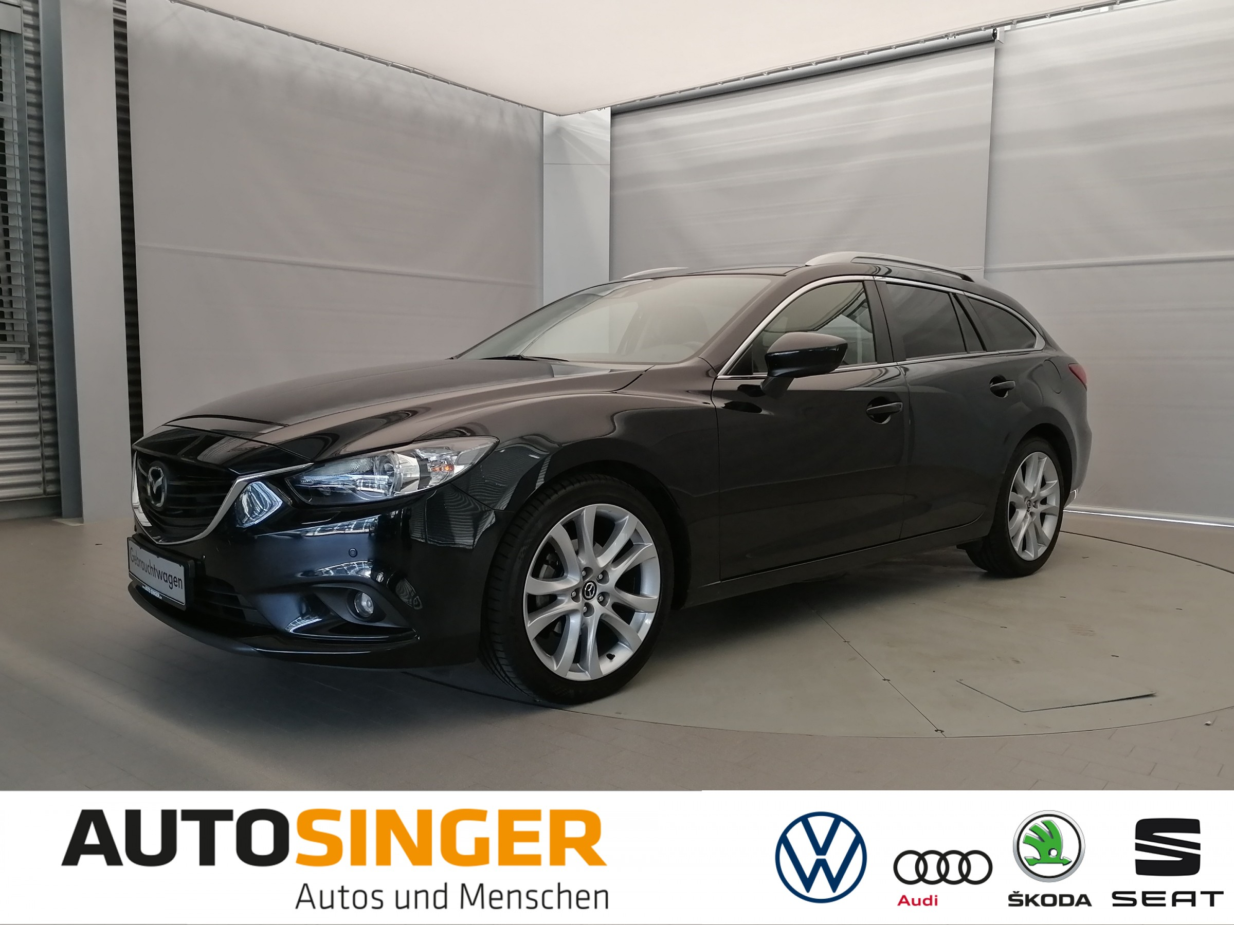 Mazda 6 Kombi 2,0 SKYACTIV - G *NAVI*XENON*SHZ*PDC*, Jahr 2013, Benzin