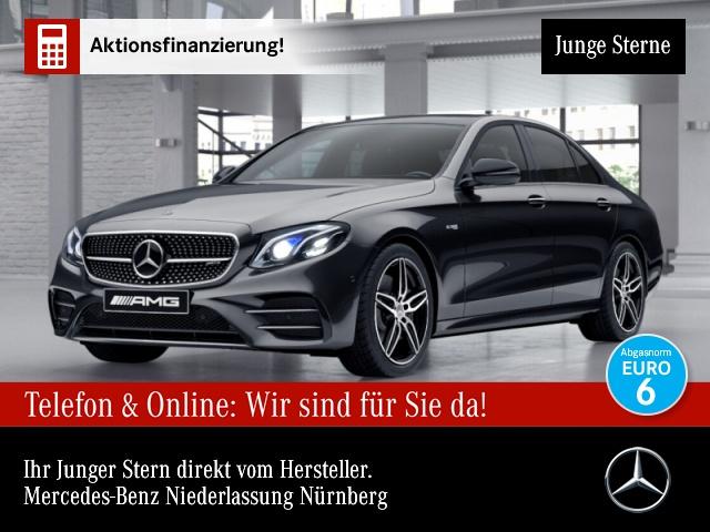 Mercedes-Benz E 43 AMG 4M Fahrass.COM.Pano.Stdhzg.Multi.getGla, Jahr 2017, Benzin