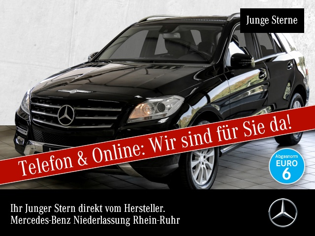 Mercedes-Benz ML 250 4M BT SHD AHK Navi Sitzh Temp, Jahr 2013, Diesel