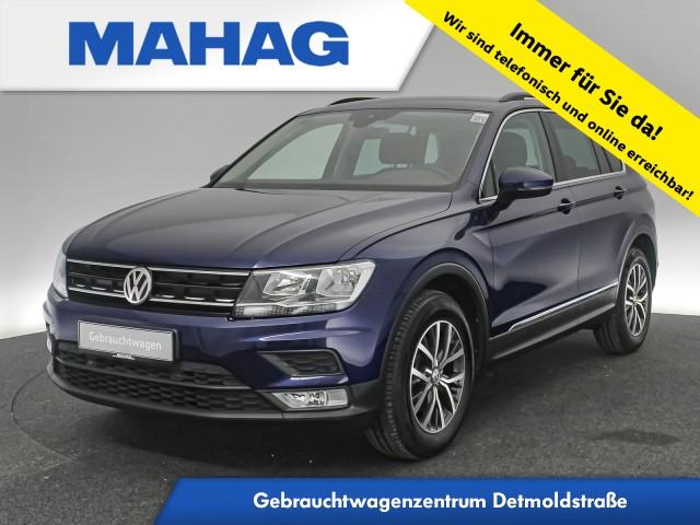 Volkswagen Tiguan 1.4 TSI Comfortline ParkPilot FrontAssist LaneAssist LightAssist 17Zoll 6-Gang, Jahr 2016, Benzin