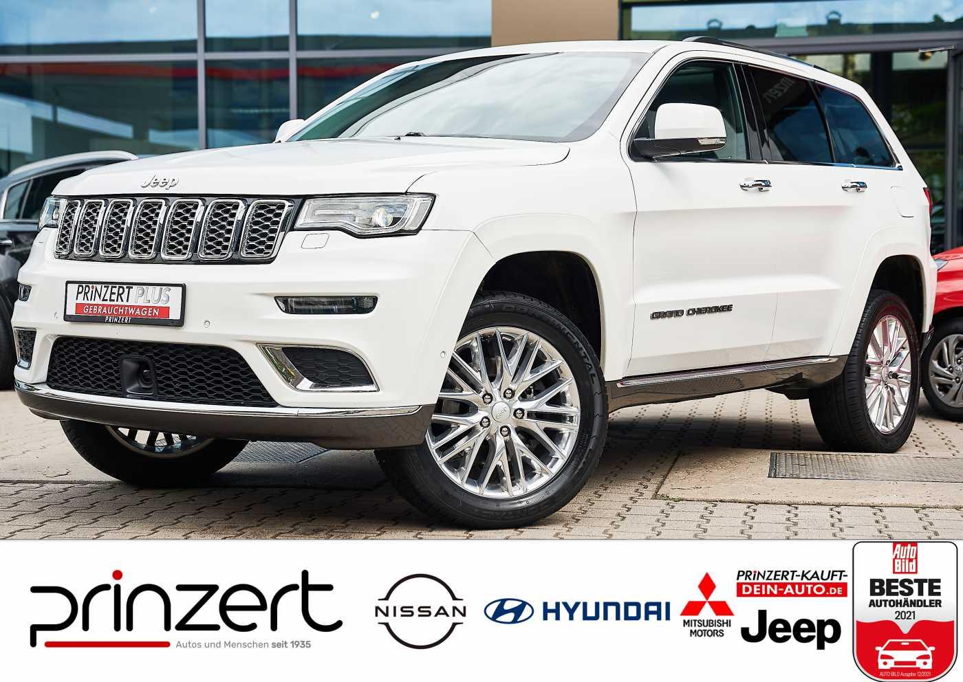 Jeep Grand Cherokee 3.0 CRD 'Summit' Leder Morocco, Jahr 2017, Diesel