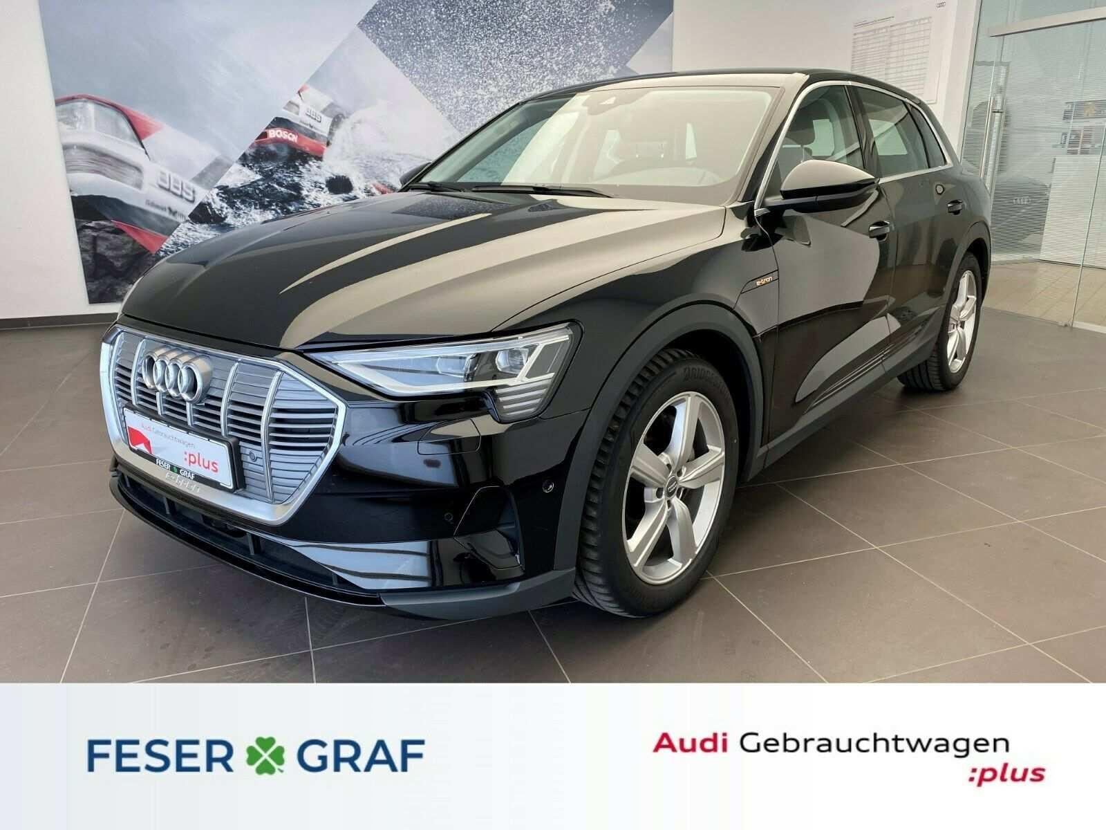 Audi e-tron 55 qu. - Kamera - Luft - ACC - B&O - AHK, Jahr 2019, Elektro