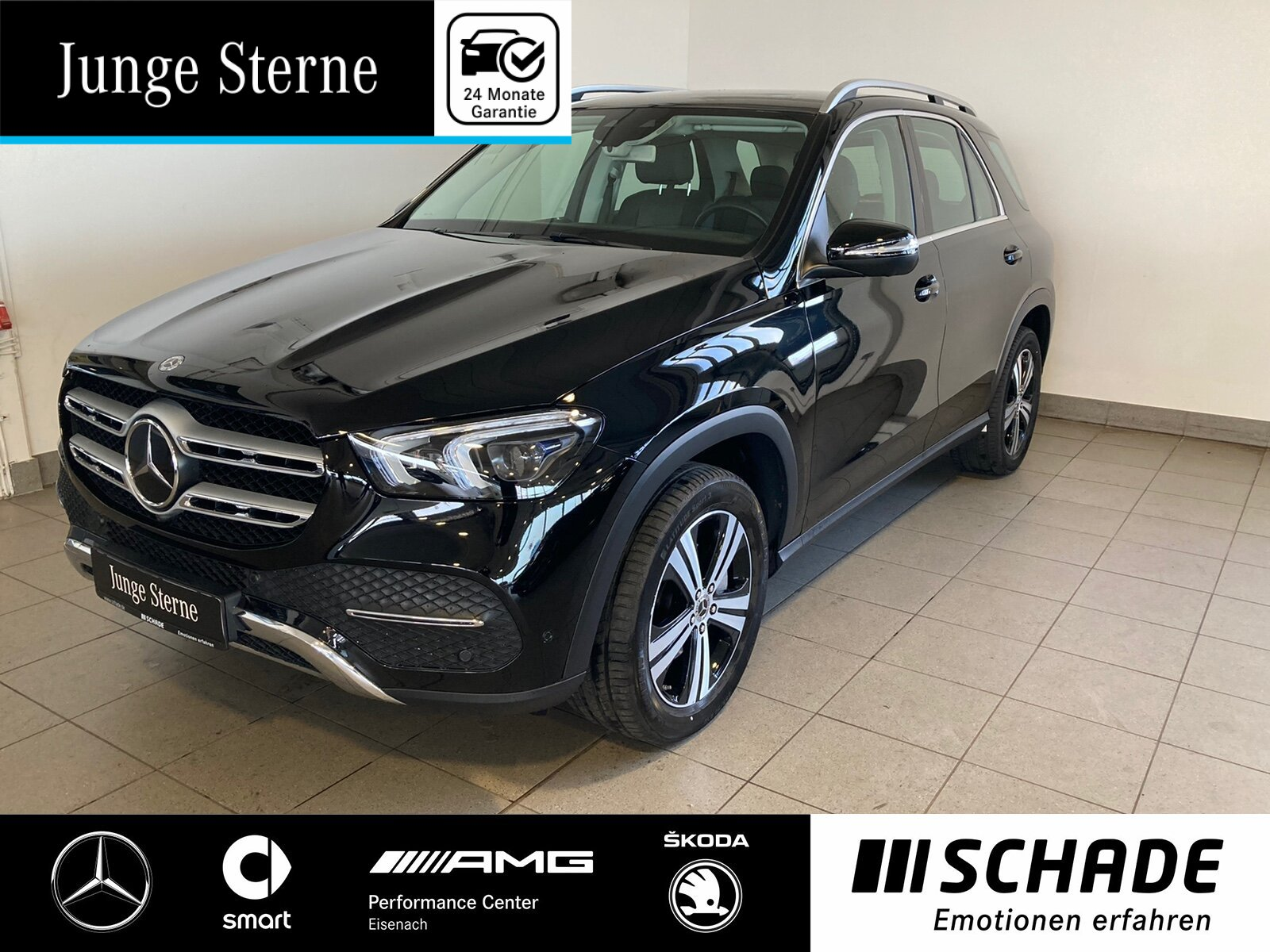 Mercedes-Benz GLE 300 d 4M Distronic*AHK*360°Kamera*LED Multi., Jahr 2019, Diesel