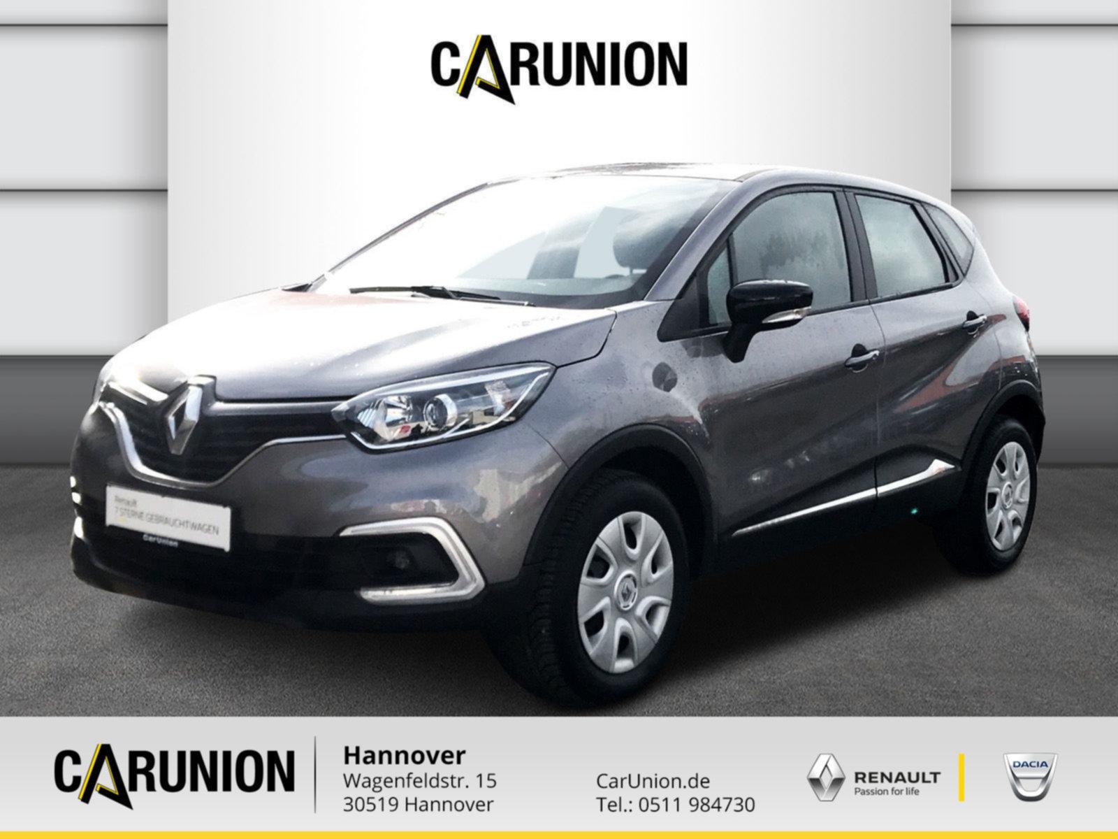 Renault Captur Experience TCe 90, Jahr 2018, Benzin