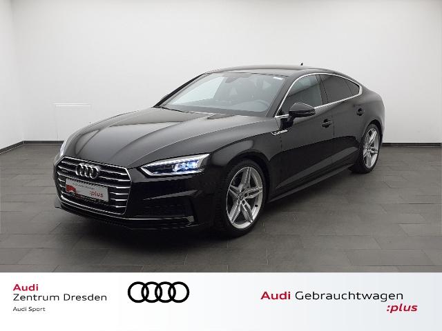 Audi A5 Sportback 2.0 TDI quattro sport S-line LED-S, Jahr 2018, Diesel