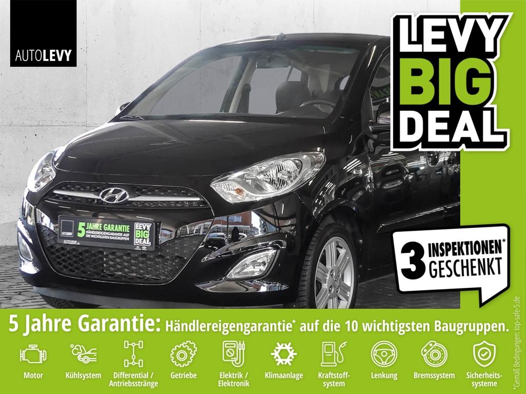 Hyundai i10 1.1 5 Star Edition *Klima*Sitzheizung*AUX/US, Jahr 2012, Benzin