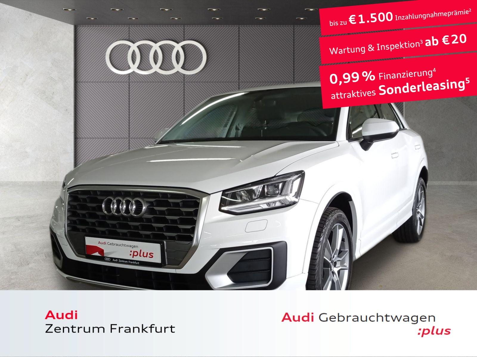 Audi Q2 30 TFSI sport LED Navi Tempomat DAB PDC, Jahr 2020, Benzin