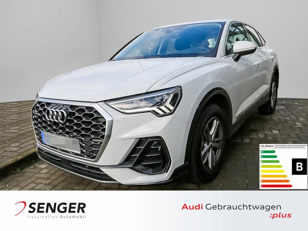 Audi Q3 Sportback 35 TDI quattro Spurhalteassistent, Jahr 2020, Benzin