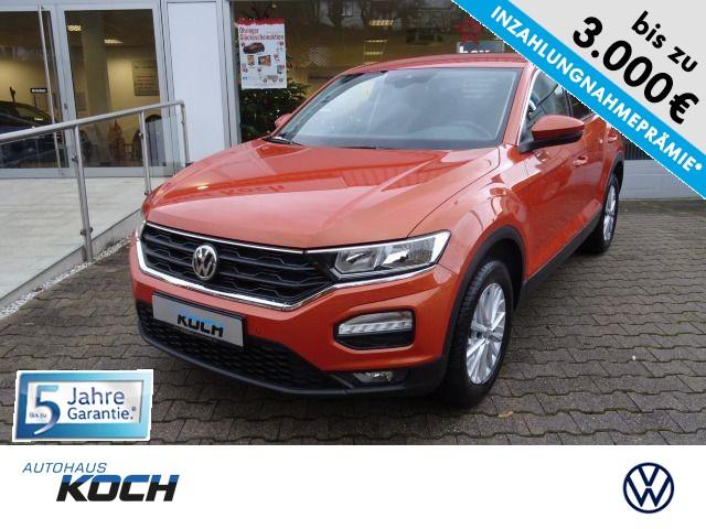 Volkswagen T-ROC 1,0 TSI Navi, Climatronic, Bluetooth, Sitzheizg., Jahr 2019, Benzin