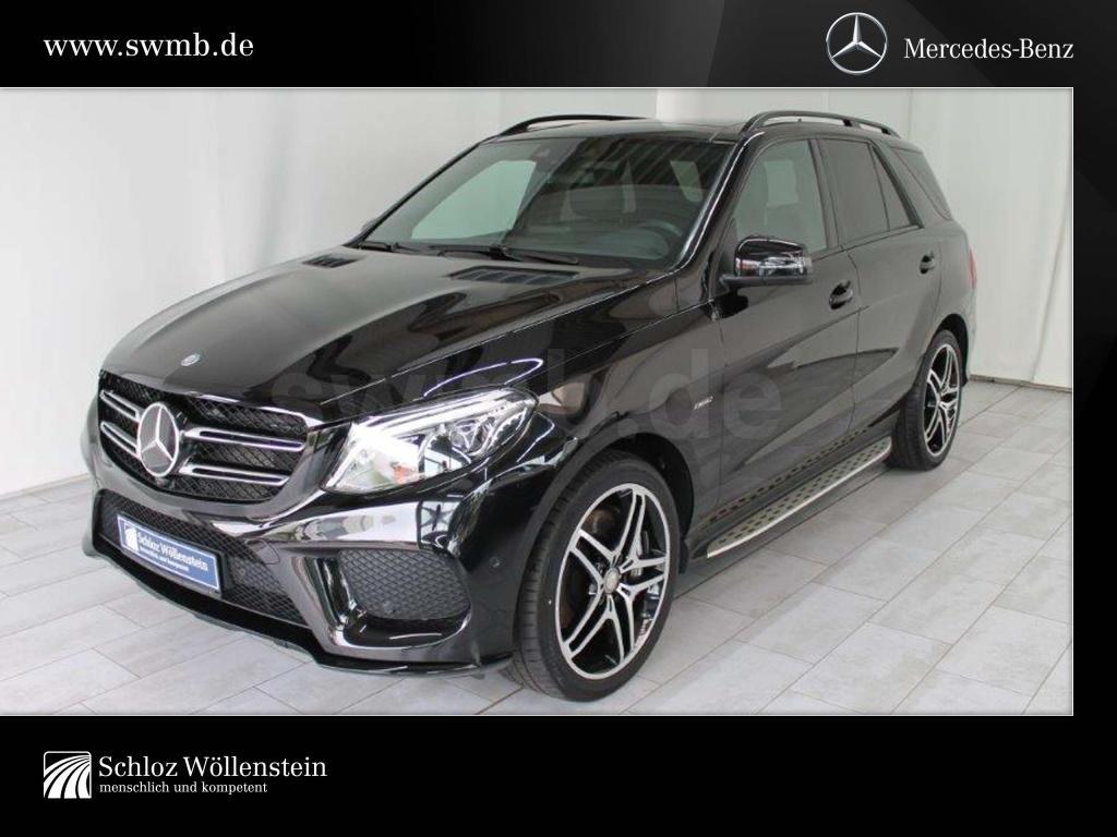 Mercedes-Benz GLE 450 4M AMG/NightP/HK/DISTRONIC/LED-ILS/Pano., Jahr 2016, Benzin