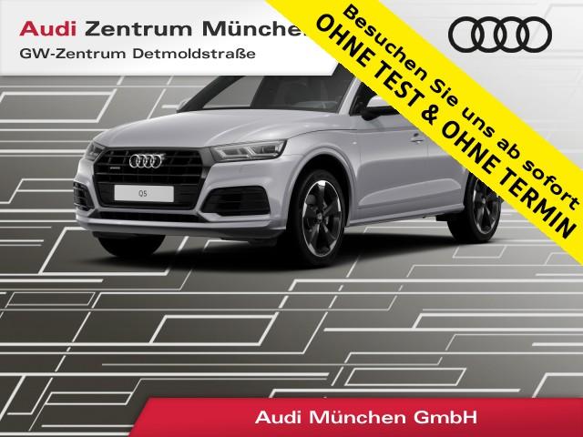 "Audi Q5 40 TDI qu. Sport S line B&O Virtual LED Standhz. Navi Teilleder 20"" S tronic, Jahr 2019, diesel"