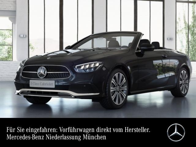 "Mercedes-Benz E 200 Cabrio AVANTG+LED+Burmester+Kamera+19""+Totw, Jahr 2021, petrol"