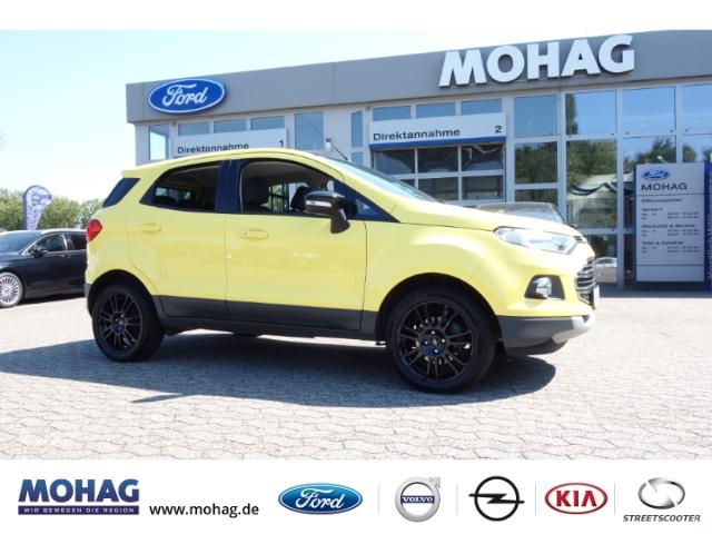 Ford EcoSport Beheizb. Frontsch. Multif.Lenkrad NR Klima SHZ Temp PDC ESP, Jahr 2016, Benzin