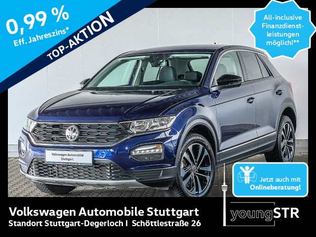Volkswagen T-ROC 1.5 TSI Sport DSG Navi Tempomat, Jahr 2019, Benzin
