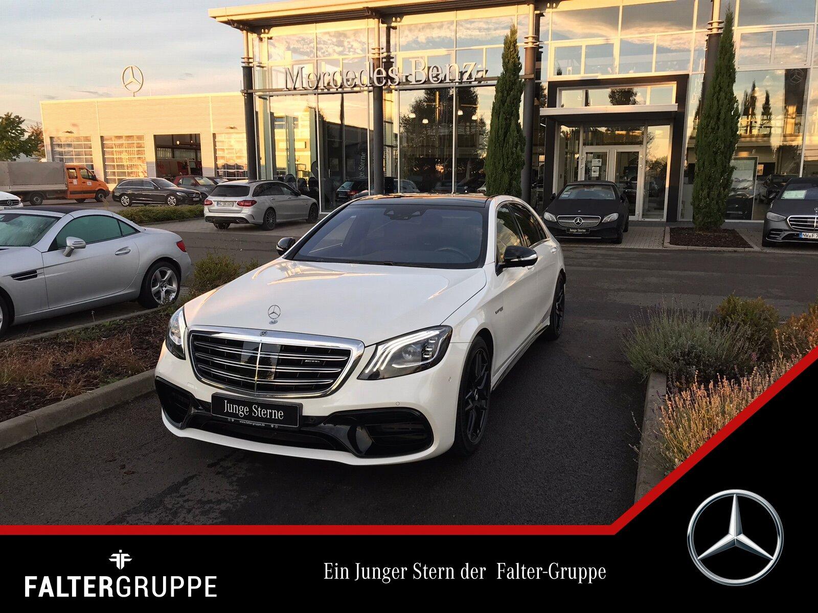 Mercedes-Benz S 63 217.551-Exclusiv DISTR Massage FondTV Pano, Jahr 2018, Benzin