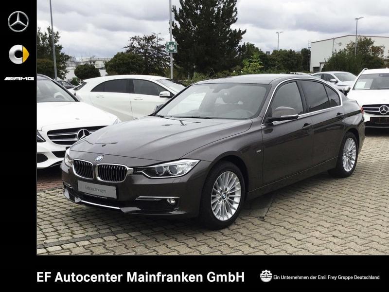 BMW 316i Luxury Line*Xenon+PDC+Leder+Shz+Comfort+Durchlade, Jahr 2014, petrol