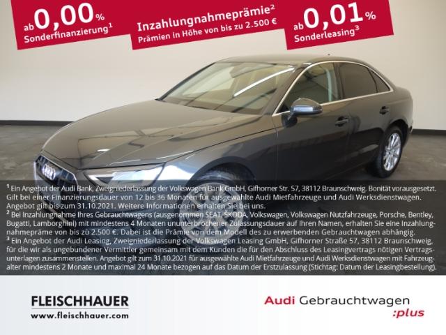Audi A4 Limousine 35 TDI 2.0 S tronic EU6d-Temp, Jahr 2020, Diesel
