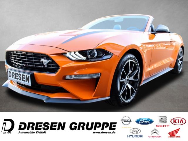 Ford Mustang Convertible 2.3 EcoBoost Abstandstempomat+Rückfahrkamera+Klimasitze+LED-Scheinwerfer, Jahr 2019, Benzin