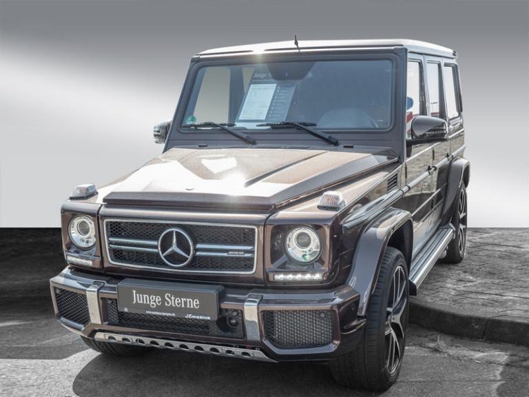 Mercedes-Benz G 63 AMG Comand/SHD/AHK/Stdhz/DAB/Edition/21', Jahr 2017, Benzin