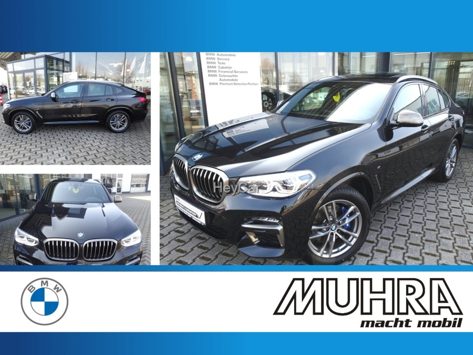 BMW X4 M40d Panorama AHK Head Up HiFi LED, Jahr 2020, Diesel