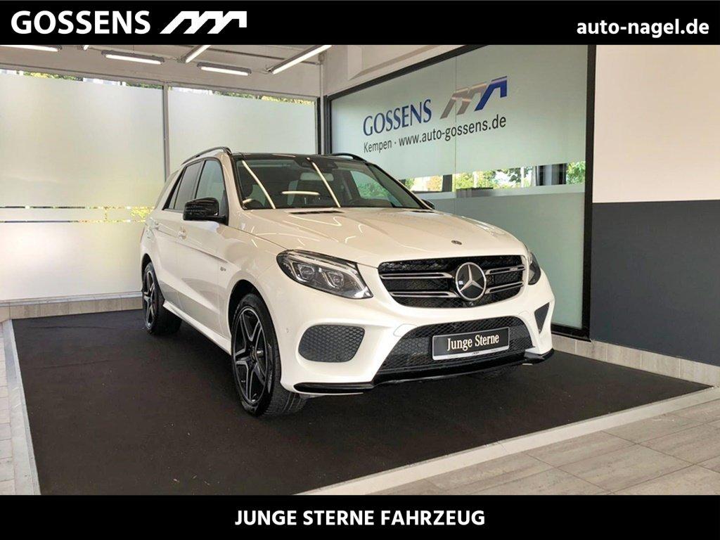"Mercedes-Benz GLE 43 AMG 4M +COMAND+LED+AHK+DISTRONIC+360°+20"", Jahr 2017, petrol"