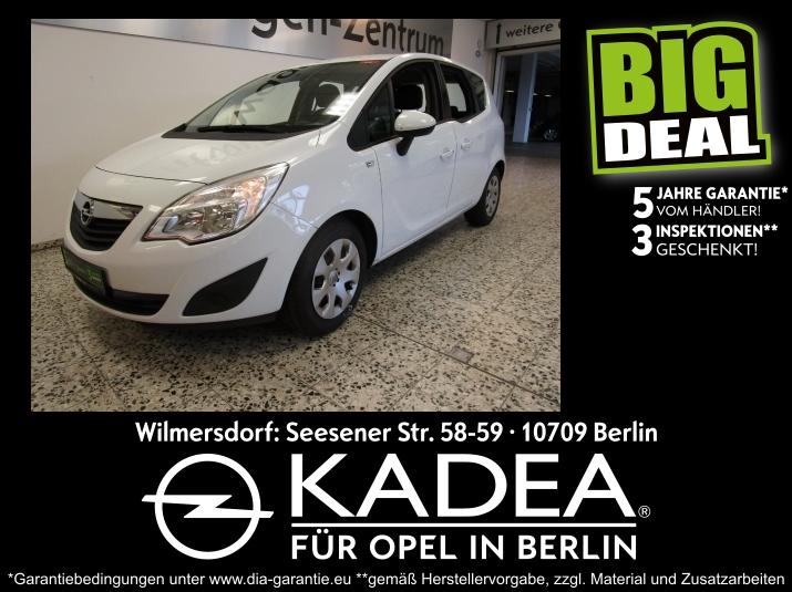 Opel Meriva B 1.4 5 Jahresgarantie 3 Inspektionen...., Jahr 2013, Benzin