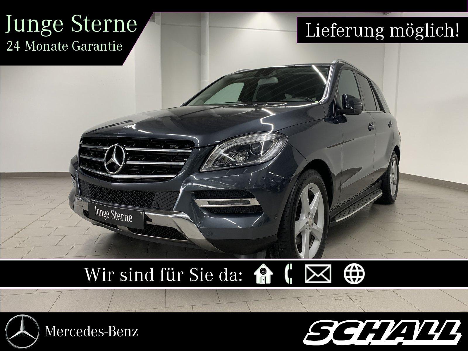 Mercedes-Benz ML 350 BT 4M AIRMATIC+HARMAN-KARDON+ILS+KEYLESS, Jahr 2015, Diesel
