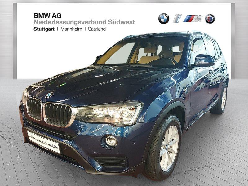 BMW X3 xDrive20i Advantage Var. Lenkung Standhzg., Jahr 2017, Benzin