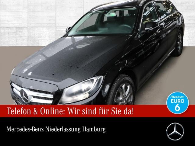 Mercedes-Benz C 200 d T Avantgarde Distr+ AHK Navi PTS Sitzh, Jahr 2016, Diesel